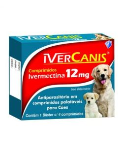 IVERCANIS 12 mg – 4 comprimidos