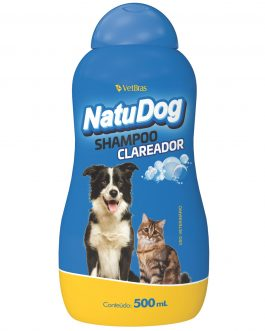 NATUDOG SHAMPOO CLAREADOR 500 ML